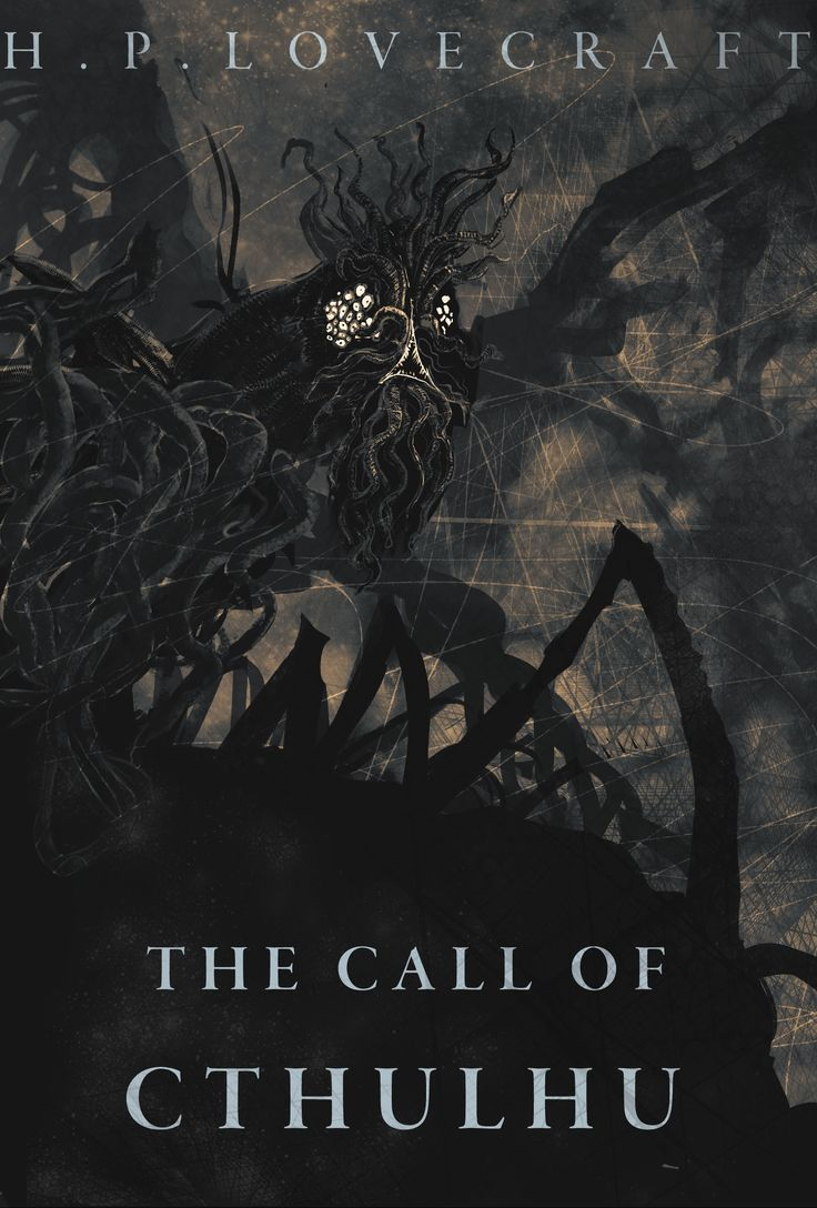 ArtStation - Call of Cthulhu Book Cover, Joe Grabenstetter