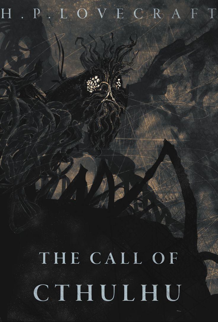 ArtStation - Call of Cthulhu Book Cover, Joe Grabenstetter