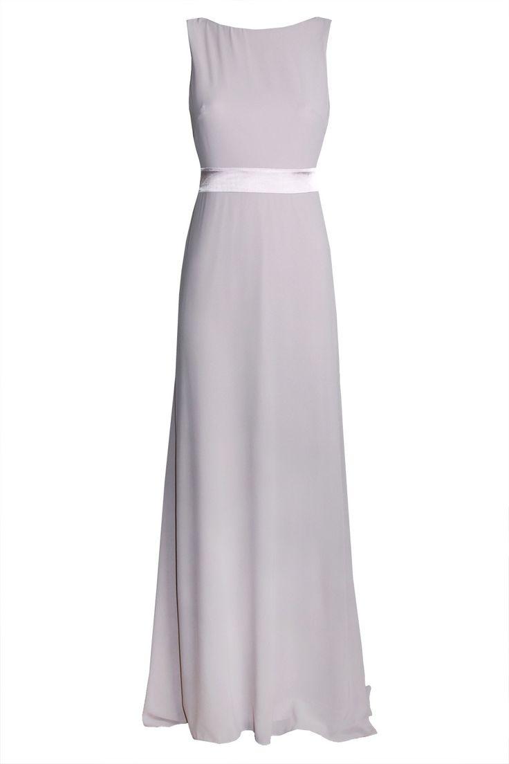 V cut long dresses 60 and under