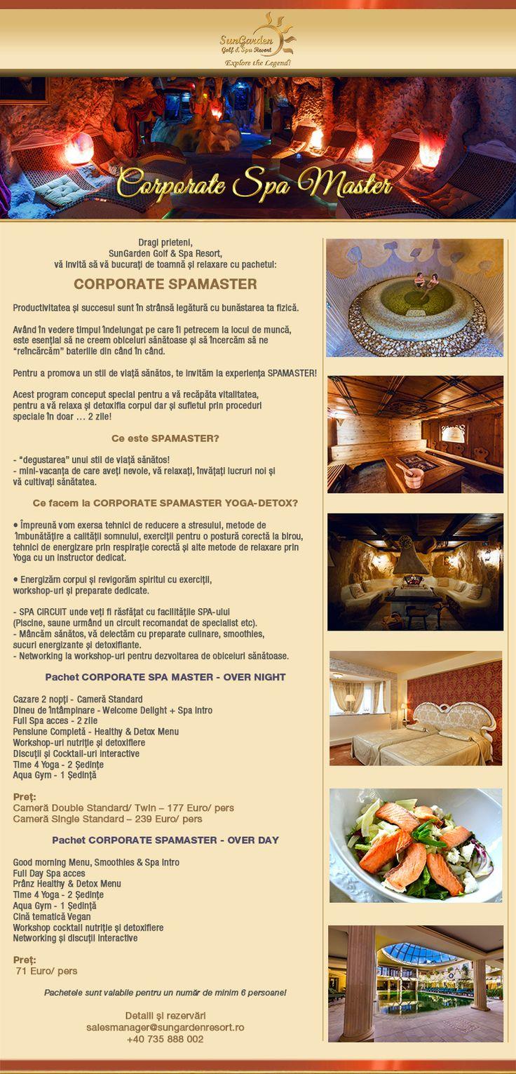 Corporate Spa Master - Sun Garden Resort