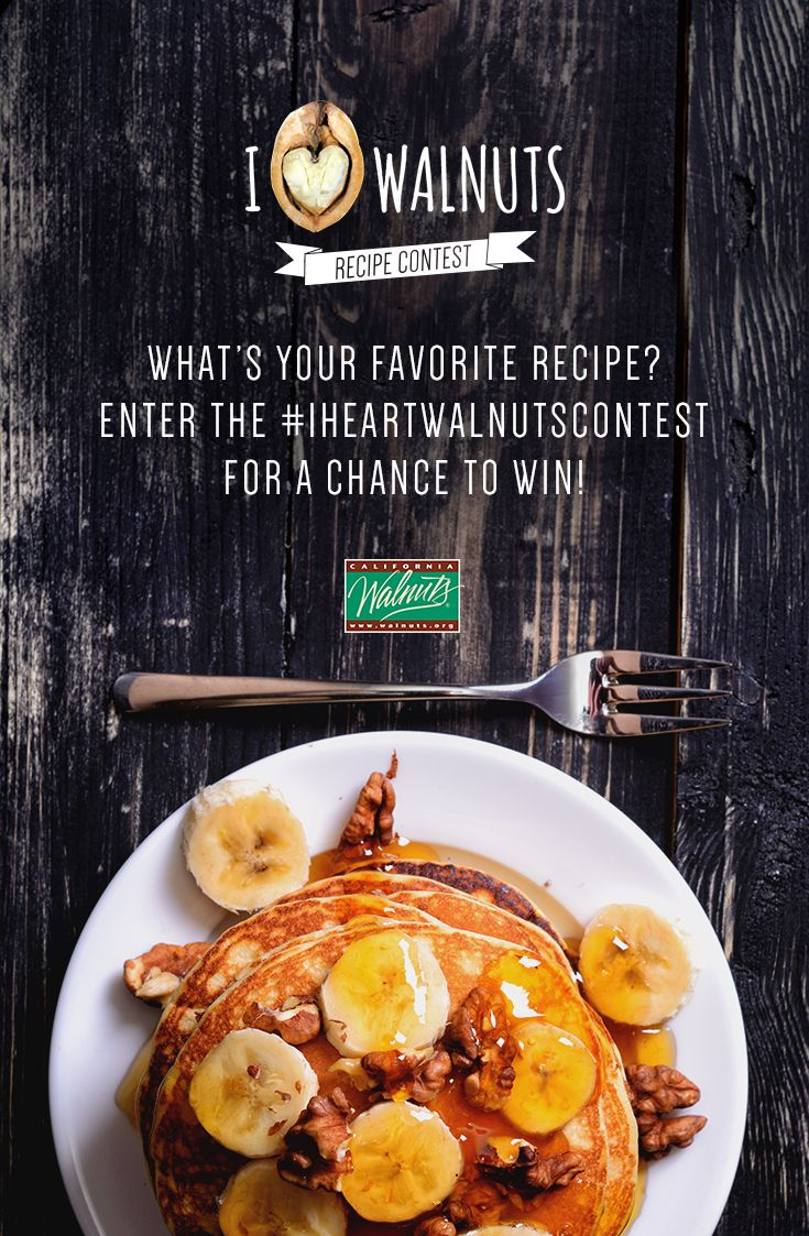 60 best i 3 walnuts recipe contest images on pinterest walnut submit a walnuts recipe and you could win 5000 post to instagram with iheartwalnutscontest forumfinder Choice Image