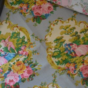 Best French Fabric Images On Pinterest French Fabric Canvas - Country french fabric