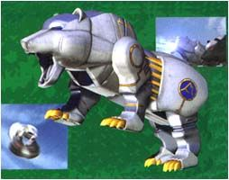 •Wild Zords - Power Rangers Wild Force