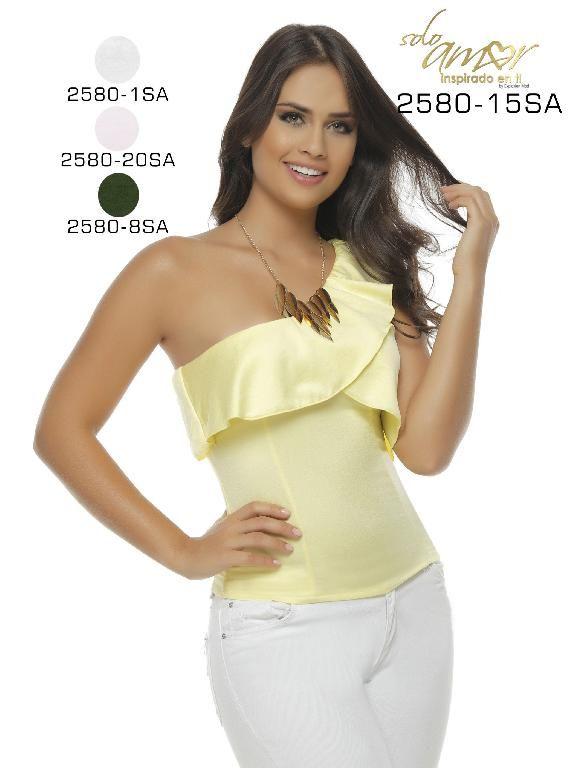 Blusa Moda Colombiana Solo Amor - Ref. 246 -2580-20 SA Rosado