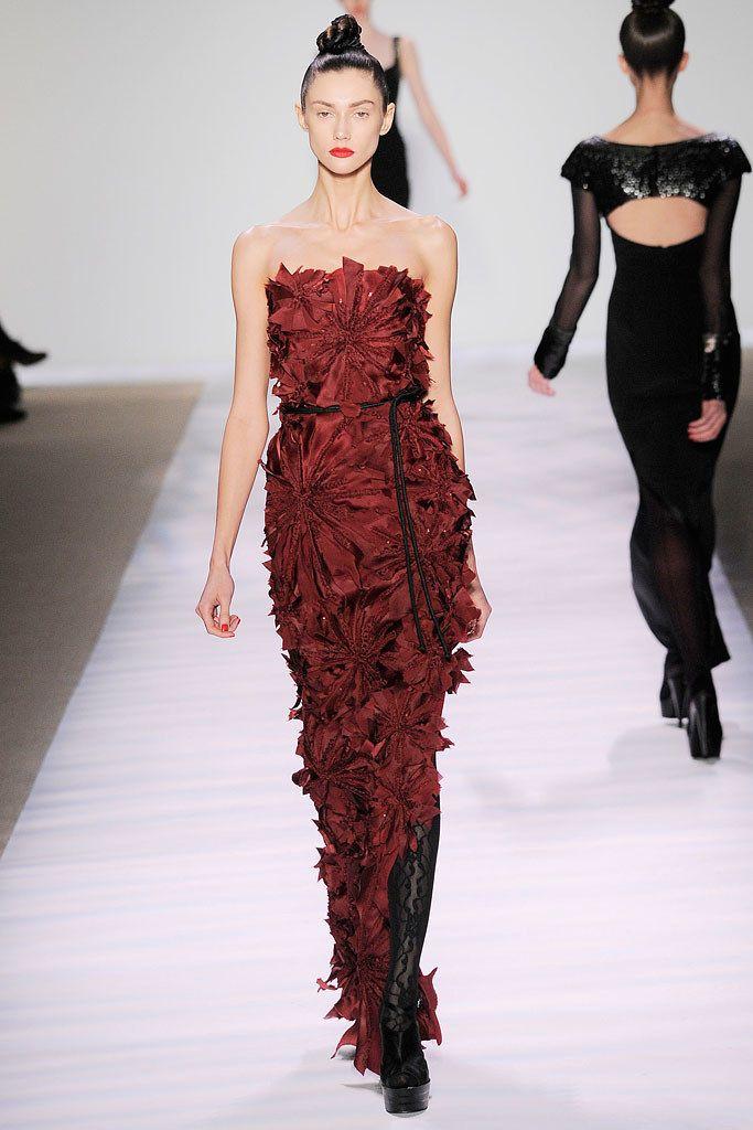 buy air jordan 4 oreo Monique Lhuillier Fall 2010 Ready to Wear Collection Photos   Vogue