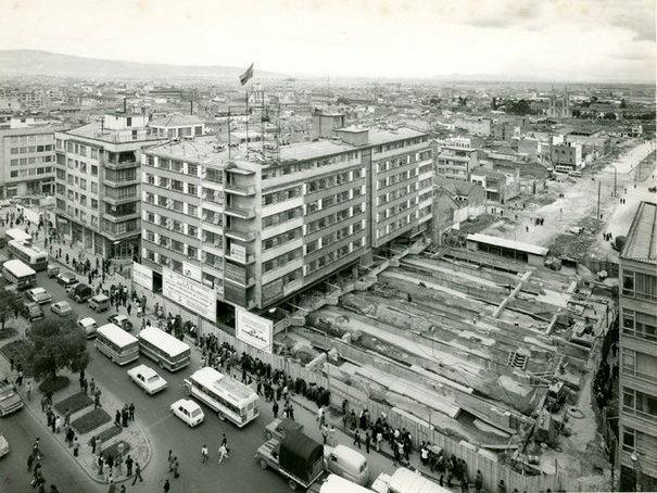 38 años de un gran Guinness Récords colombiano, movieron el edificio de Cudecom para conectar el oriente con el occidente mediante la construcción de la avenida 19.