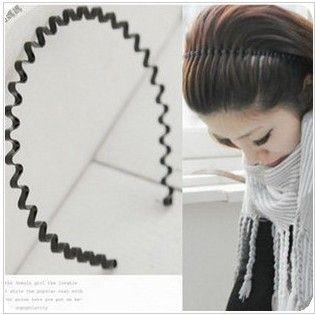 ZOSHI Simple Design Metal wave Headband Hair Bands for Girls Women Headwear Hair Accessories wholesale price hair jewelry