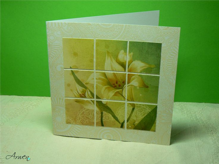 Inchies lily card.