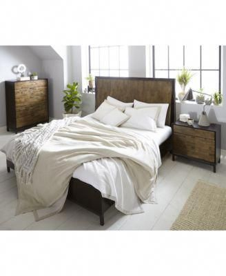 Ashton Curved Panel Bedroom Furniture Collection #Rusticfurniture