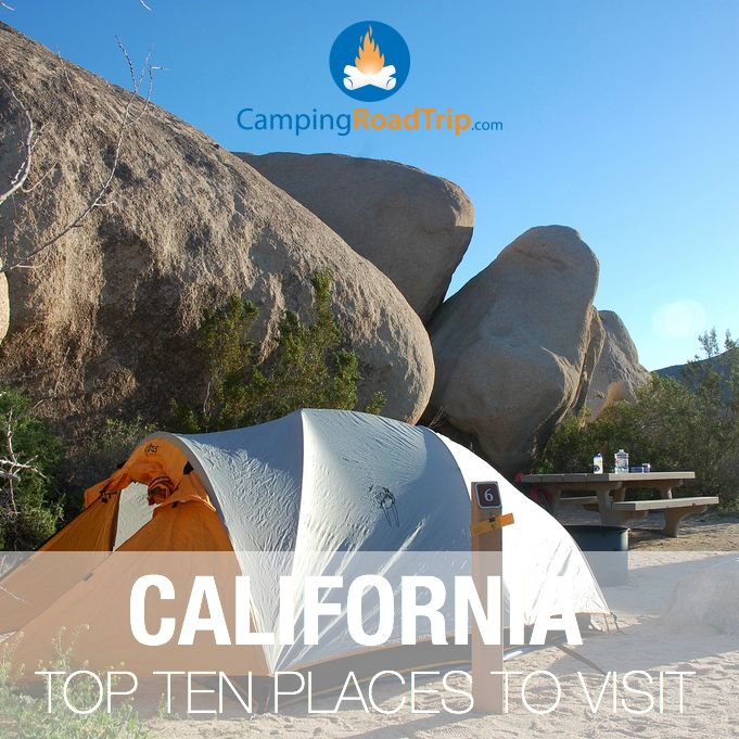 California! One of the most popular vacation destinations in America, all year round & everything from backpacking, hiking, RVing, camping and world class road trips.
