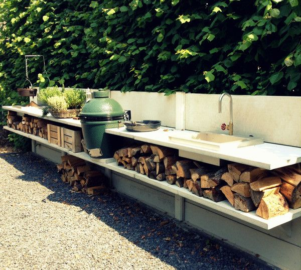 Outdoor Kitchen Abigail Ahern