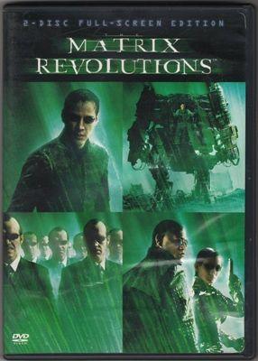 Matrix Revolutions Full Screen Edition R DVD Movie Region 1