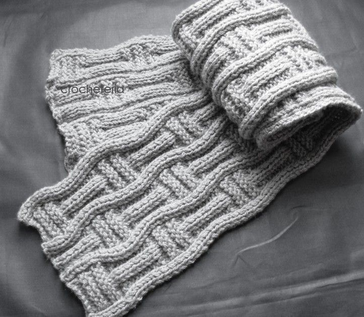 Knit a man's hat and scarf: free pattern :: allaboutyou.com