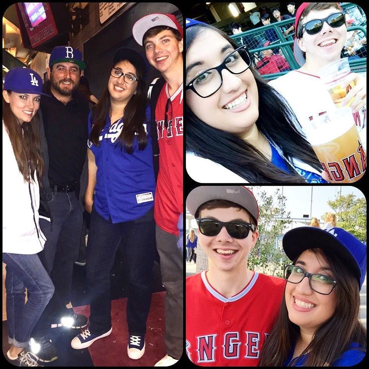 THINK BLUE: Dodgers vs Angels 3 Days in a Row  by annuhh23