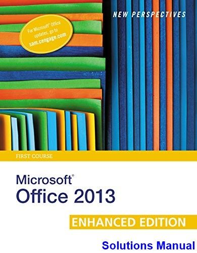58 best test bank download images on pinterest key manual and new perspectives on microsoft office 2013 first course enhanced edition 1st edition shaffer solutions manual fandeluxe Choice Image