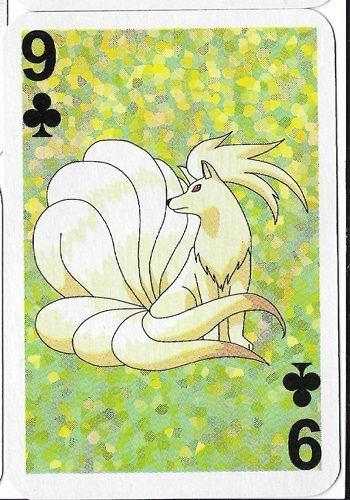 Pokemon Ninetales Mini Playing Card Nintendo 3291-038