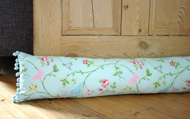 How to Make a Draft Excluder (draft stopper/save energy) - AO at home