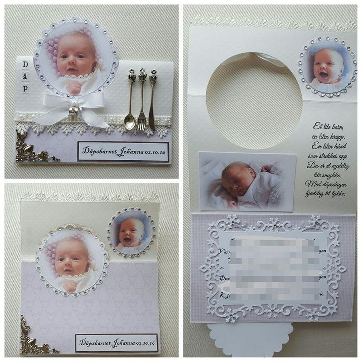Dåpskort Babykort
