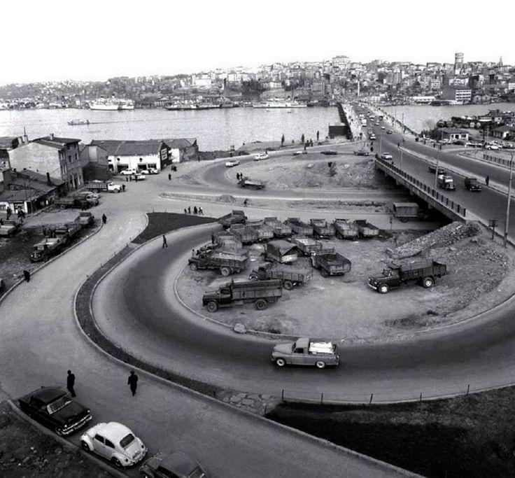 unkapanı kavşağı 1950