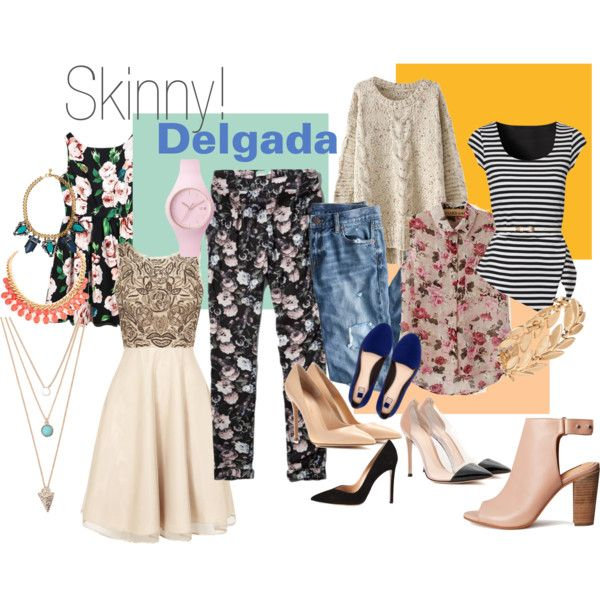 Que deben usar las mujeres delgadas! what should skinny women wear!