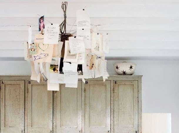 Oltre 25 fantastiche idee su Lampadario di carta su Pinterest