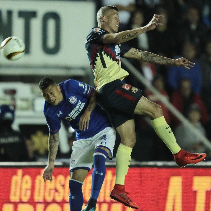 Nada para nadie; Cruz Azul y América empatan a cero en la ida de los 4tos de final #LigaMX #futbol #fotografia Notimex