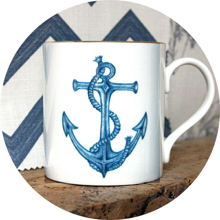 Anchor Mug from Natural History - the Modern Nauticals collection  http://natural-history.myshopify.com/products/anchor-mug