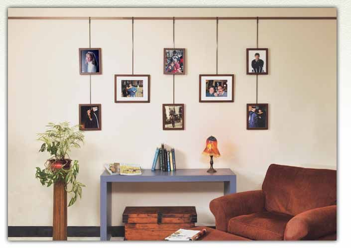 Looking to hang pictures the walker display picture hanging system makes it easy and fun