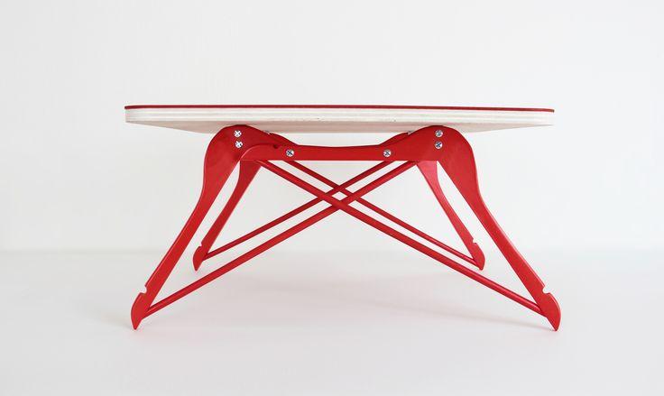 Table+basse+cintre