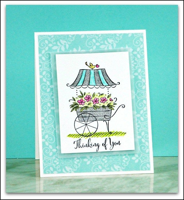 Stampin Up Friendship's Sweetest Thoughts card by Sandi @ stampinwithsandi.com #stampinup #friendshipssweetestthoughts #stampinwithsandi #sandimaciver #cardmakingblog #canadianstampinupdemonstrator