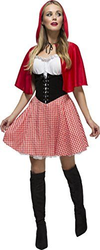 Fever Adult Women's Red Riding Hood Costume, Dress and Ho... https://www.amazon.co.uk/dp/B004MNNZXU/ref=cm_sw_r_pi_dp_x_IfP0zbHYYP7Q7