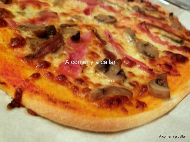 LA PIZZA PERFECTA, CON LA MASA DE JAIME OLIVER Jamie Oliver pizza dough