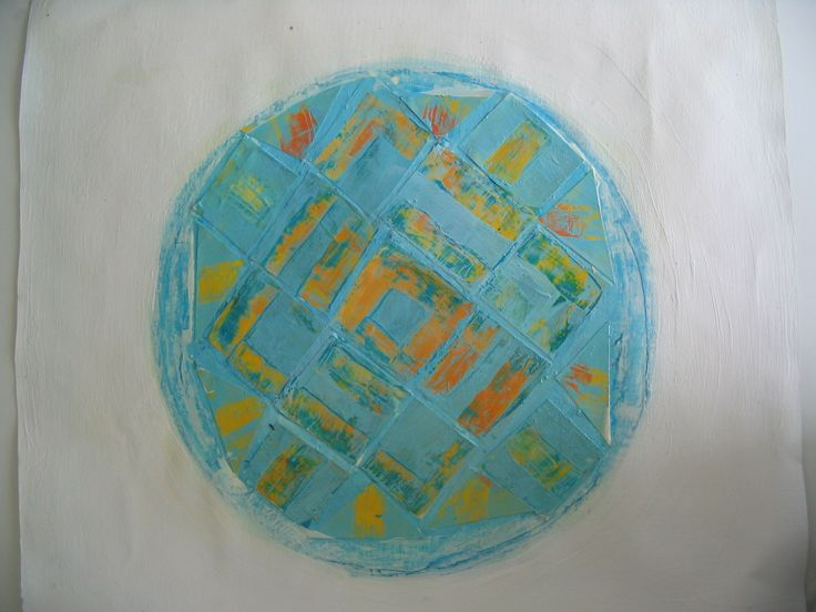 Globe, J.R. Randolph, 2013, acrylic on paper and canvas, 40x35 cm