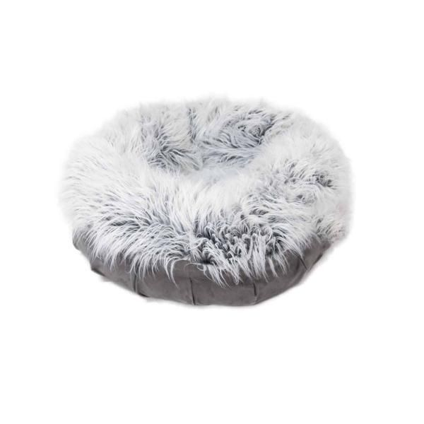 animals matter faux fur shag puff is the ultimate in luxury and designer dog beds