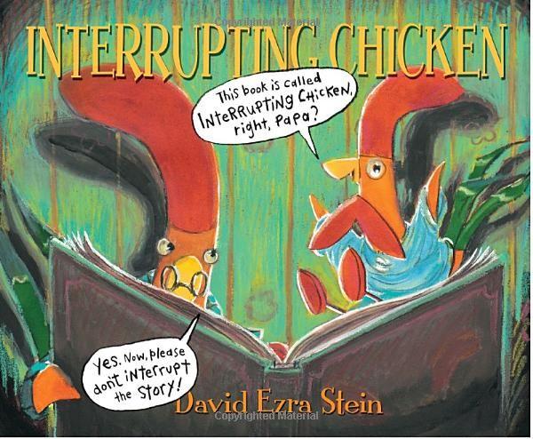 The interrupting chicken - love it!