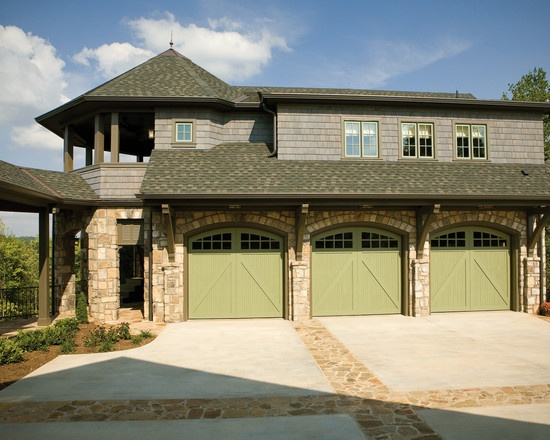 41 best images about wood carriage house garage doors on for Commercial garage plans