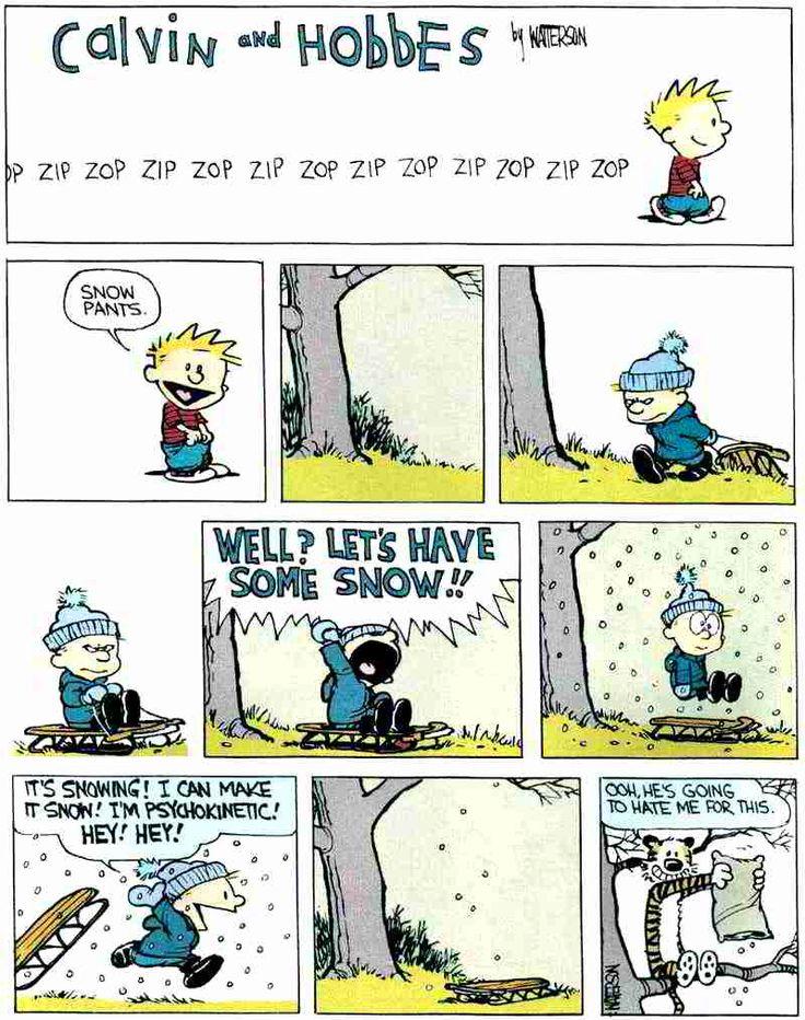 I Love Calvin and Hobbes!