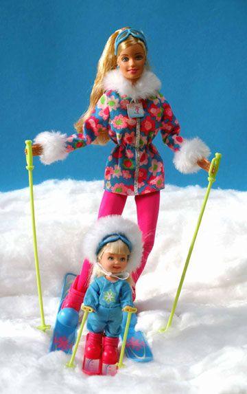 Barbieworld Sport Gt Ski 235 N Gt 15 Barbie Op De Ski S In