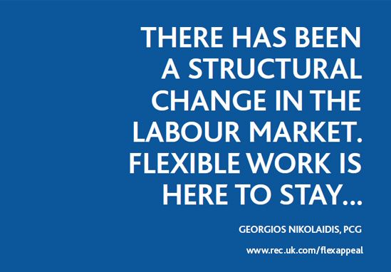 download the report at www.rec.uk.com/flexappeal