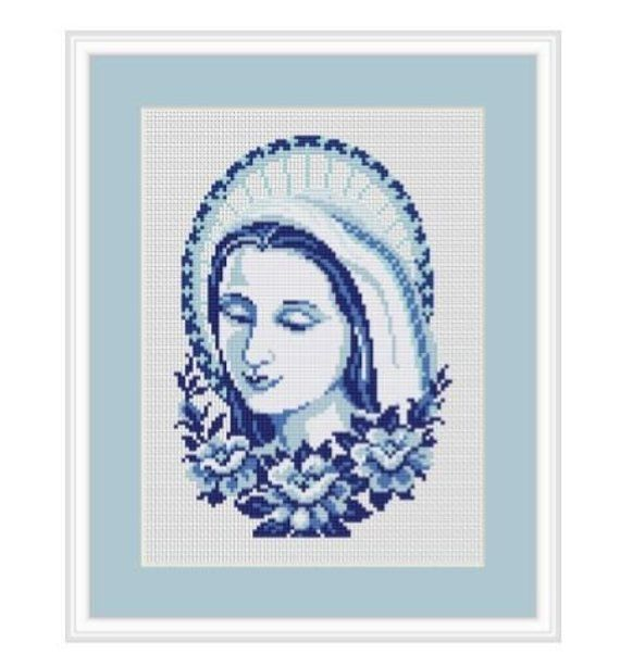 PDF INSTANT DOWNLOAD God is a Woman Cross Stitch Pattern