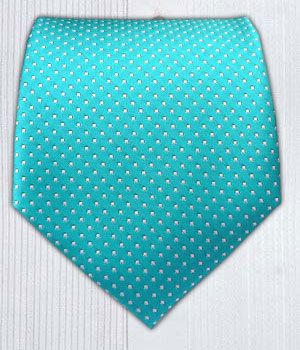 PinDot - Turquoise || Ties - Wear Your Good Tie. Every Day - Pindot - Turquoise Ties