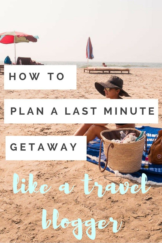 Wondering how to plan a last minute getaway? Here are my best tips and tricks for planning your next trip!