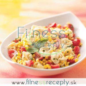 Tortellini s kukuricou a bazalkou