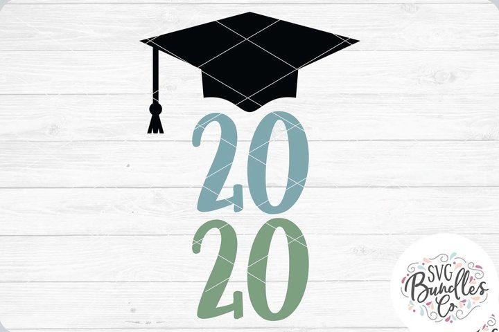 2020 Grad Hat Svg Dxf Png Grad Hat Svg Free Design