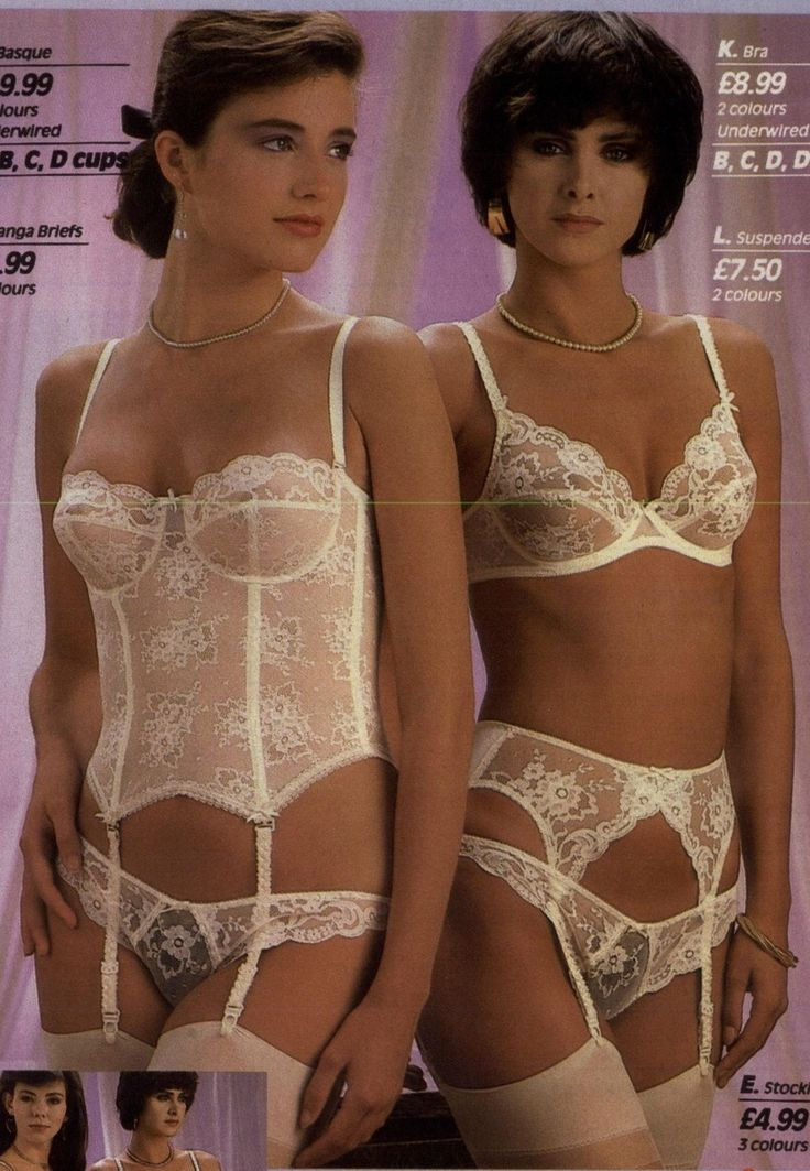 vintage and retro lingerie