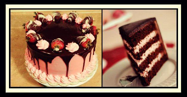 Ήρθε η ώρα να κάνεις και εσύ μια εντυπωσιακή τούρτα σαν αυτές των ζαχαροπλαστείων, εύκολα, γρήγορα και πολύ οικονομικά. Σοκολάτας - φράουλας