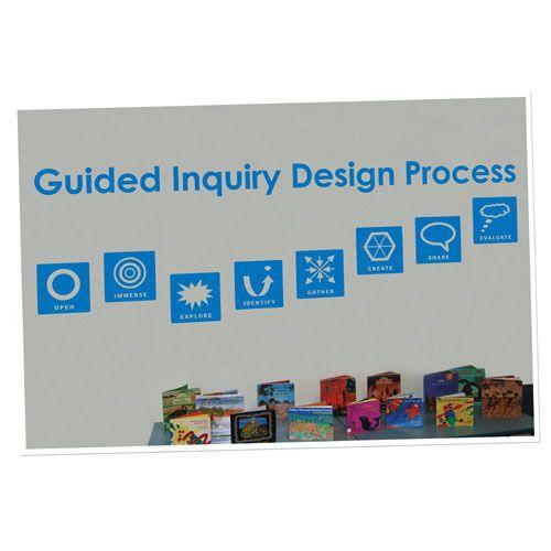 Guided Inquiry Design Vinyl Lettering