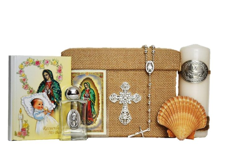 All in one Virgin Mary / Virgen Maria SPANISH Baptism Bautizo Boxset in SILVER -- Read more reviews of the product by visiting the link on the image.
