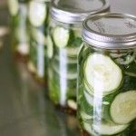 Pickles pickles pickles… Do you also have cucumbers coming out of your ears? We have so many cucumbers and you can only eat them so many ways. This way just happens to be my favorite. I'm not a huge fan of most homemade pickles. Gasp! They are just too acidic or too sweet, I just...