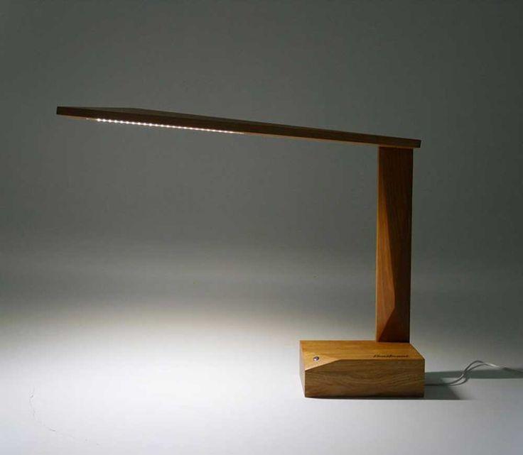 Italian Design Studio Amitrani Have Designed Ardea, A Simple Desk Lamp Made  Of Oak Wood. In Designeru0027s Words, U201cArdea Is A Lamp Realized In Oak Wood,  The Li Design Inspirations